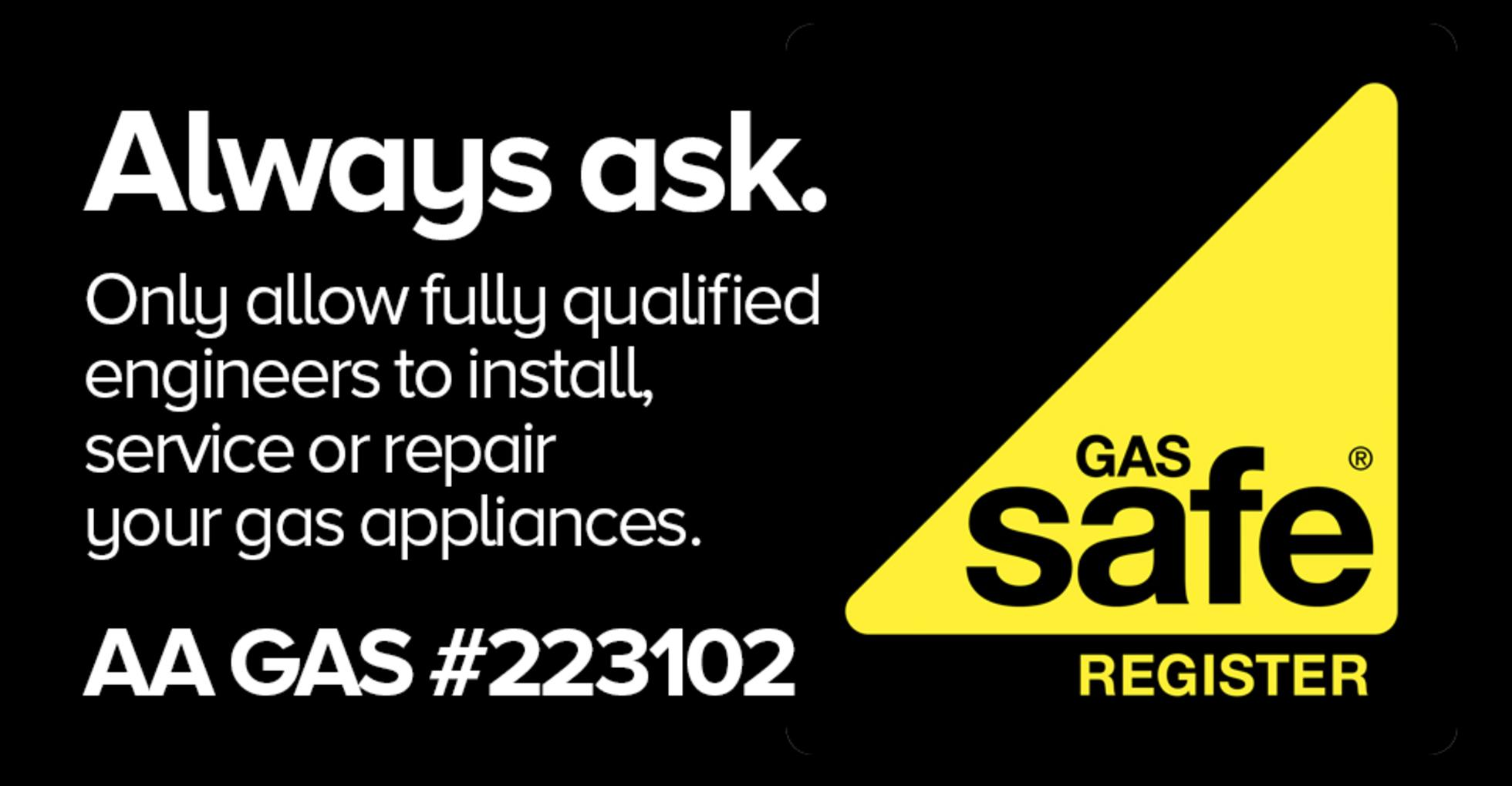 Aa gas gas safe